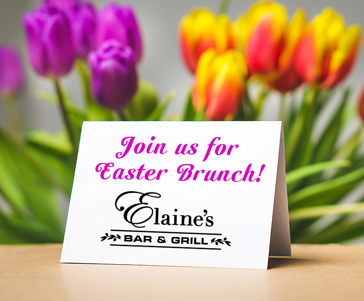 Elaine's Easter Brunch